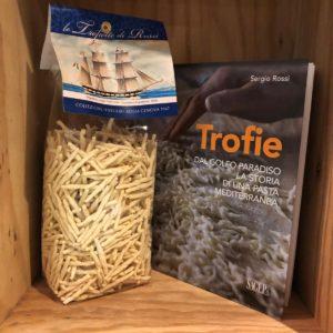 Trofie pasta tipica ligure