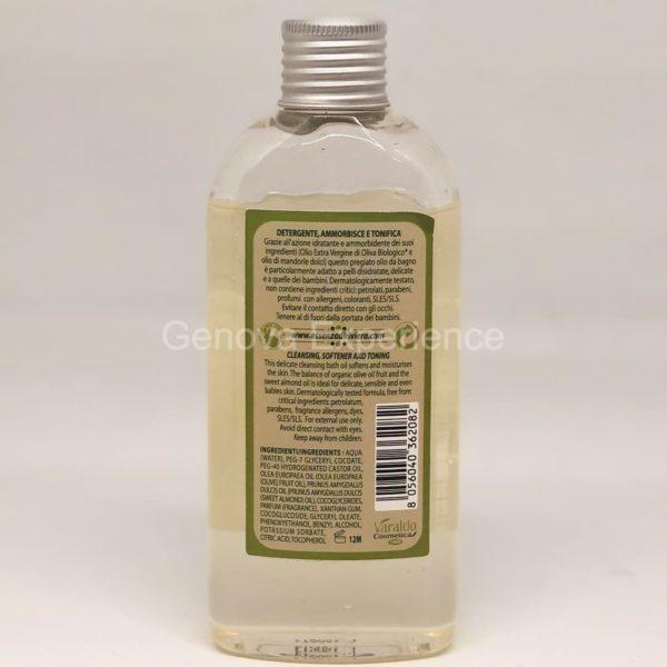Olio da bagno detergente Essenza di Riviera - Ingredienti