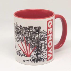 Tazza in ceramica: Mug Genova Porto Antico e Bigo