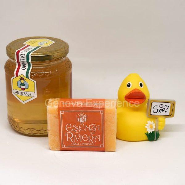 saponetta miele-propoli - sapone naturale artigianale liguria-cosmetica