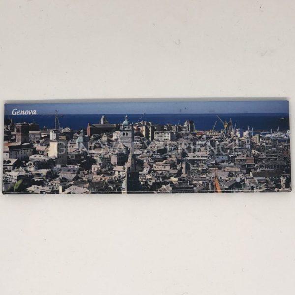 Magnete panoramico con spianata castelletto e centro storico