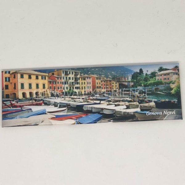 Magnete panoramico con porticciolo di Genova Nervi