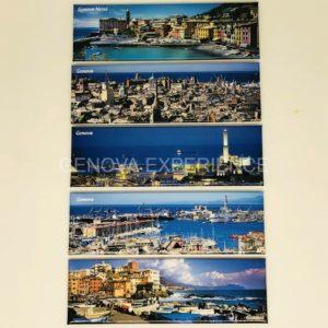Magneti fotografici di panoramiche Genovesi