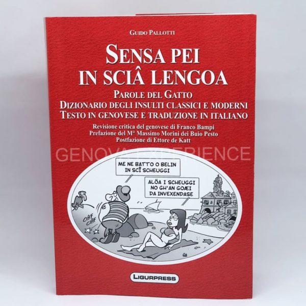 Libro senza peli sulla lingua con dizionario e insulti