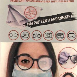 Clear Glasses Panno anti-appannamento per tutti i tipi di occhiali