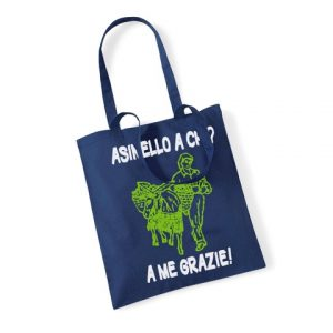 Borsa-shopper Asinello a chi 1-1