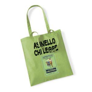 Borsa shopper Asinello chi legge