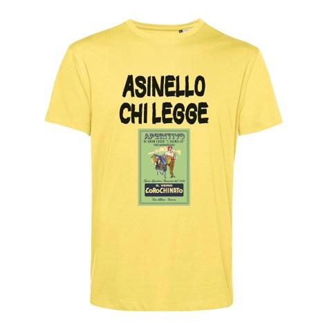 T-shirt Asinello chi legge