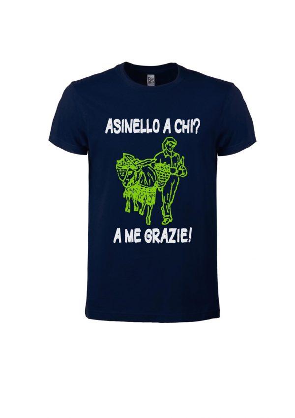 T-shirt Asinello Corochiato Asinello a chi blu