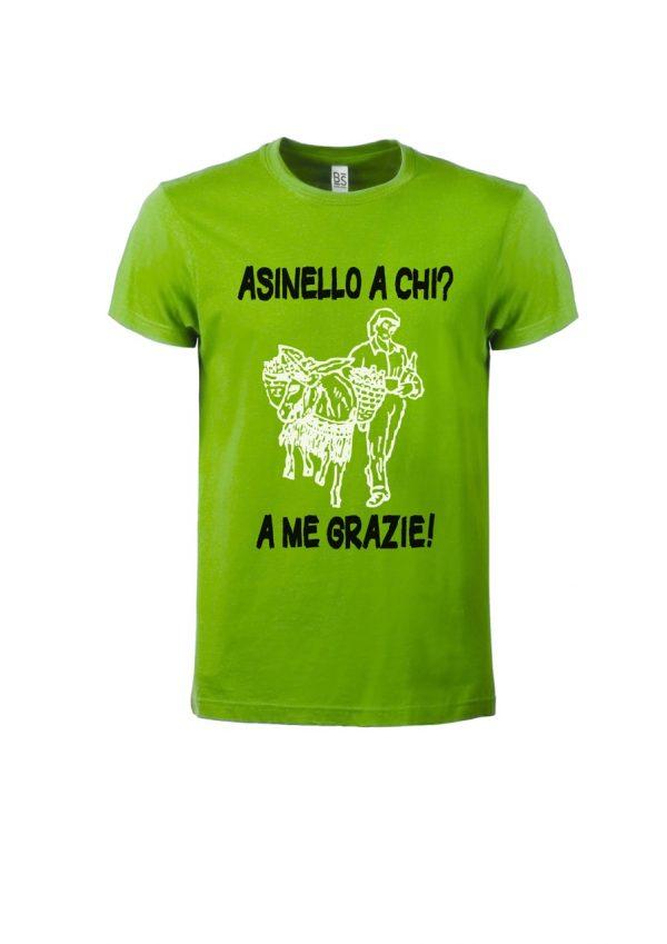 T-shirt Asinello Corochiato Asinello a chi lime
